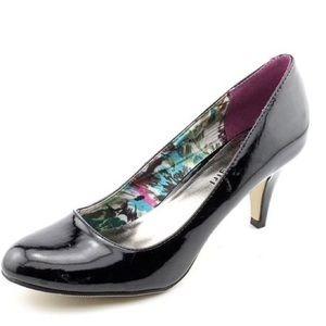 Madden Girl Black Heel Women's Bevin Pump Size 8